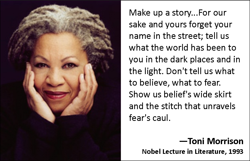 the life and work of toni morrison Of course, at that time, the paradigm for the autobiography, as far as i was concerned, was the heroic individual, and i certainly did not want to represent myself in that way but toni morrison persuaded me that i could write it the way i wanted to it could be the story not only of my life but of the movement in.